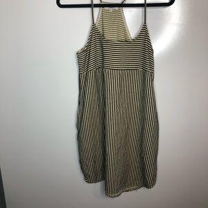 Madewell shift dress in Ticking stripe